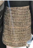 NHS Blazer Skirt Set Grey_