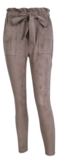 NHS Suede Pants Taupe_