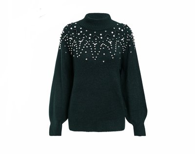NHS Crystal Sweater Green