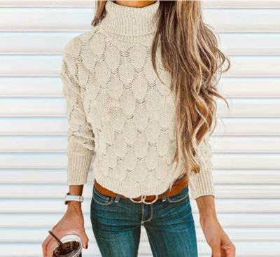 NHS Col Sweater White