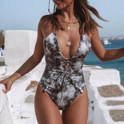 Batik Swimsuit White