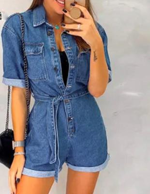 Jeans Jumpsuit Blue