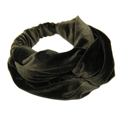 Velvet Haarband Army