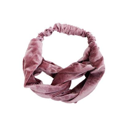Velvet Haarband Oud Roze