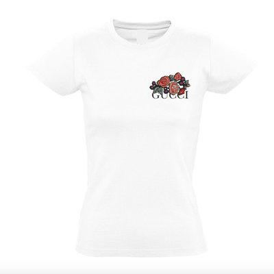 Inspired Flower T-shirt White