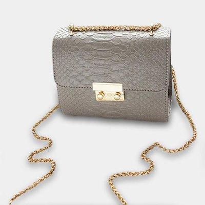 Croco Bag Grey
