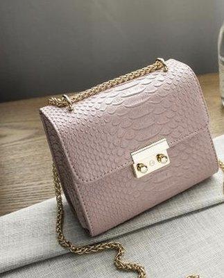 Croco Bag Pink