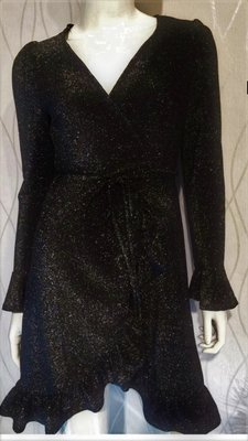 Glitters Dress Sparkly Black