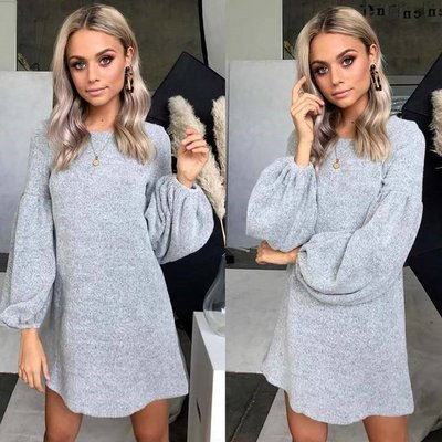 Grey NHS Sweater Dress