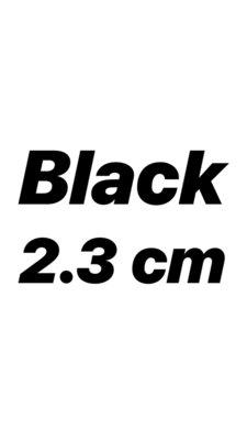 Inspired GG Belt Black 2.3 cm
