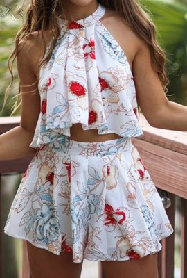 NHS Flower Two Piece Set