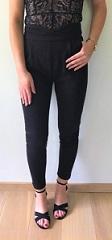 Classy V-Pants Black