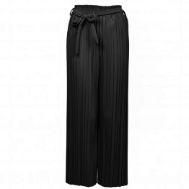 Black Plissé Pants