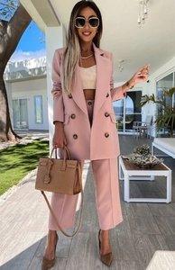 Sam Pocket Suit Pink