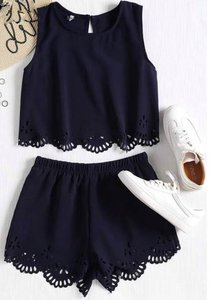 NHS Dark Blue Two Piece Set
