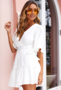 NHS A-Line Dress White