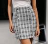 NHS Tweed Blazer Skirt Set