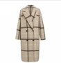 Square Coat Beige