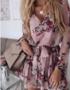 Flower Bow Dress Pink