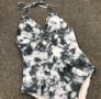 Batik Swimsuit White