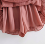 Dots Wrap Dress Old Pink