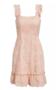 Broderie Dress Peach