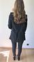 Nina Striped Suit Black